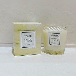NWT Voluspa | Lemon Coco 6.5oz Candle